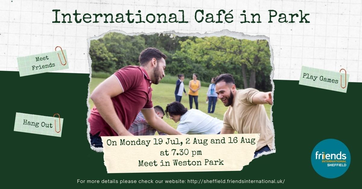 International Café in Weston Park